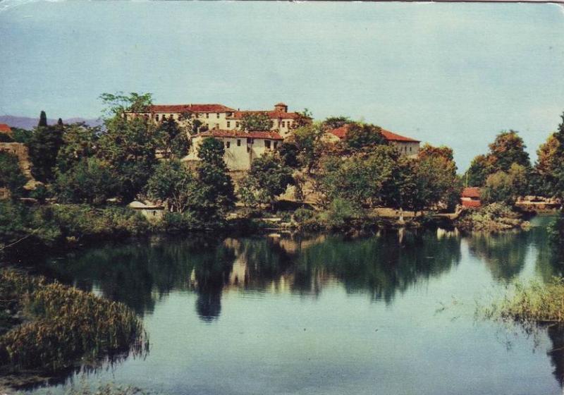 ohrid postcard