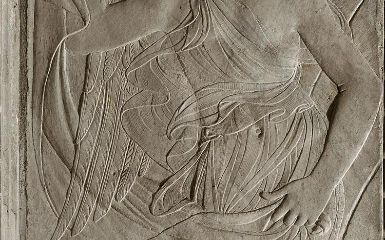 duccio angel in chapel detail torso2