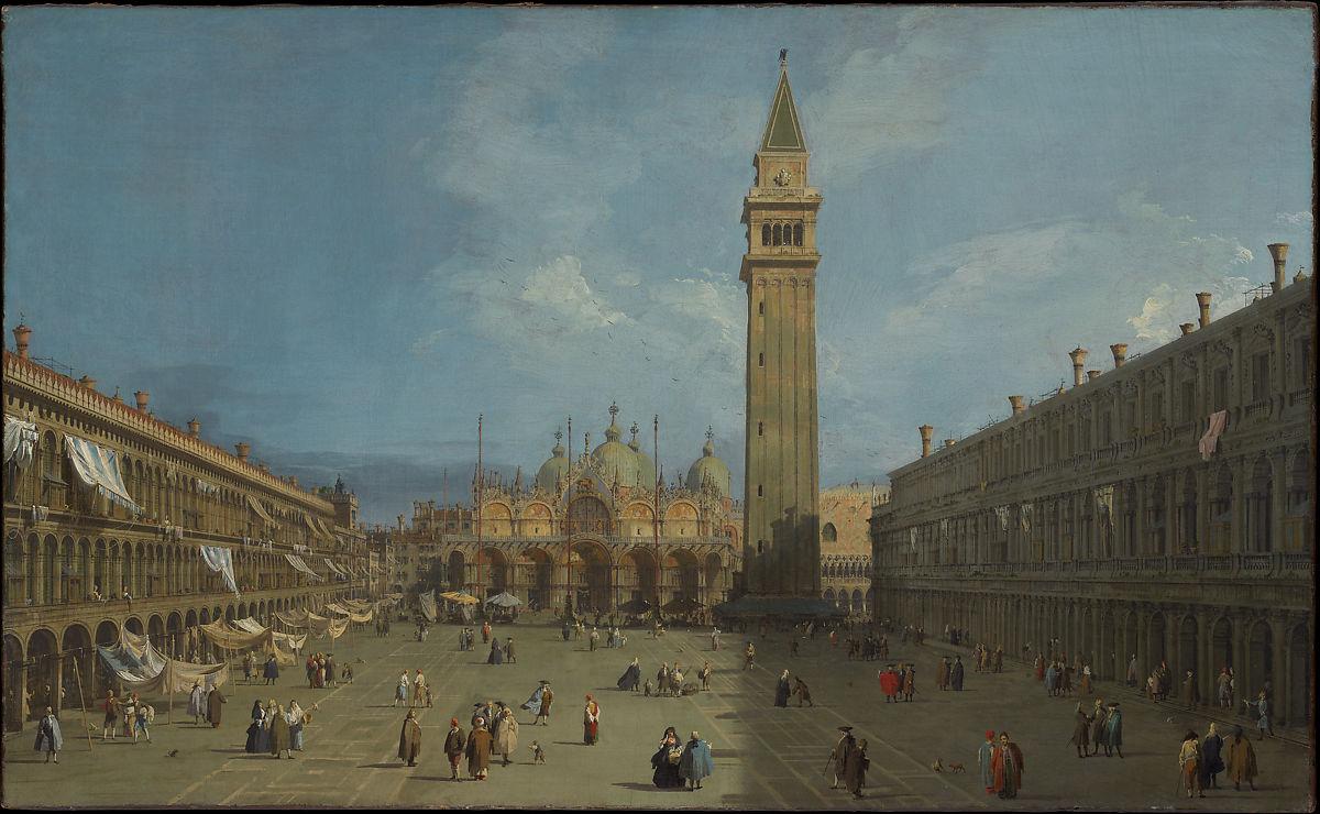 """Каналето, """"Сан Марко"""", 1730 г."""
