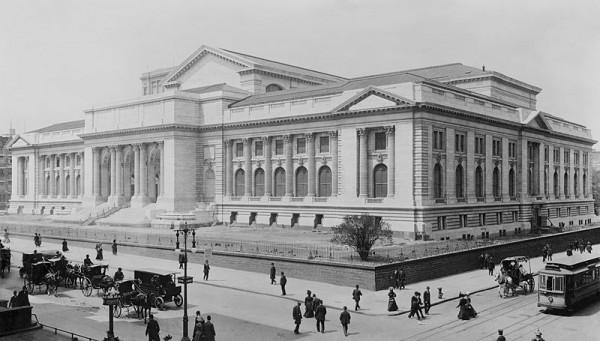 1908г. Ню Йорк, градската библиотека.
