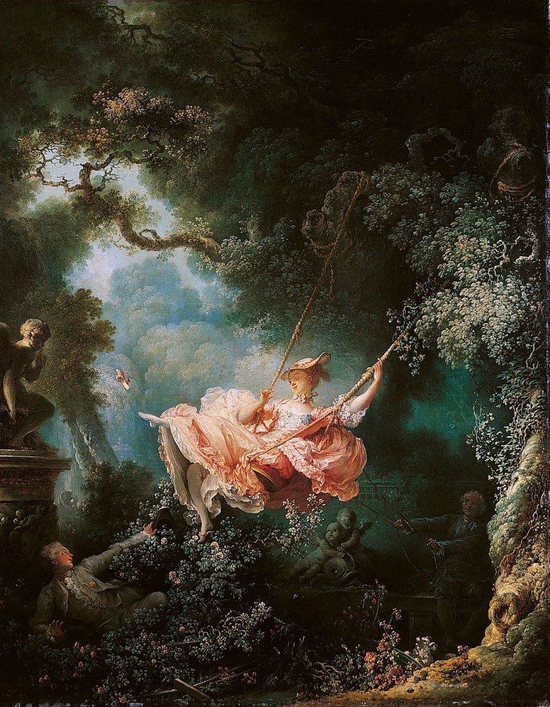"Фрагонар, ""Люлката"", 1767г."