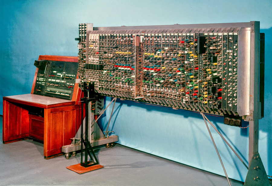 The Pilot ACE computer, designed by Turing, at the National Physical Laboratory2