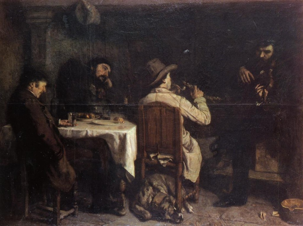 After-Dinner-at-Ornans-courbet