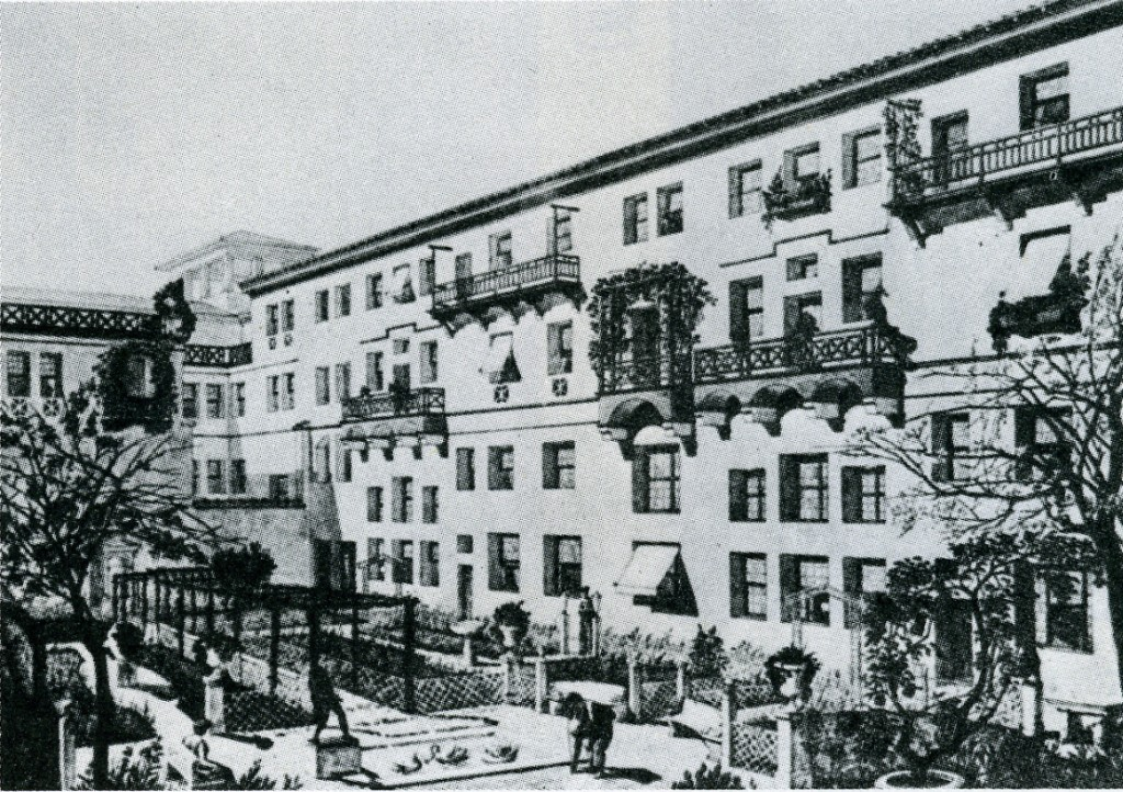 apart building ostia