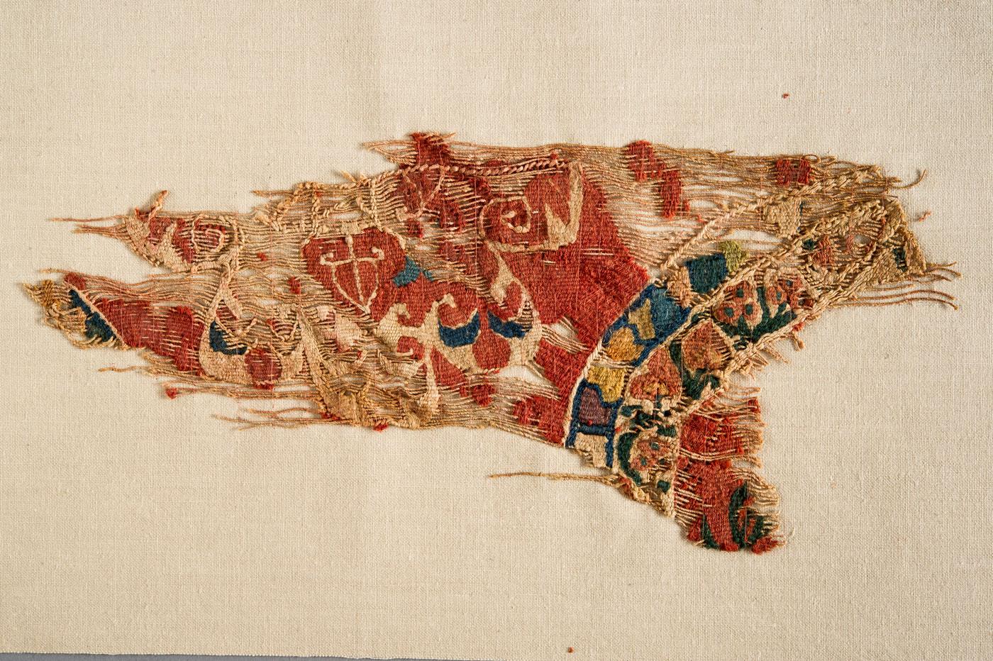 Римска тъкан, археологически музей на Джонс Хопкинс.