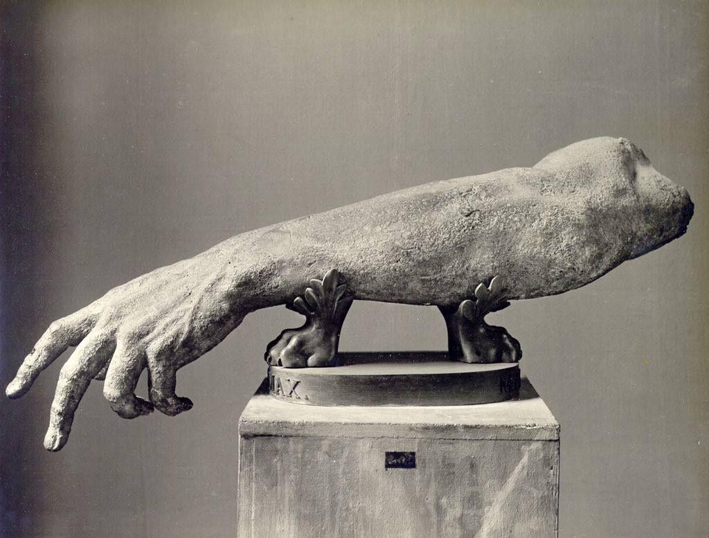 Фрагмент от римска статуя. Ватикан.