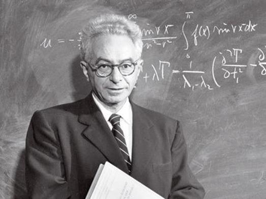"Фигура 3. Ричард Курант, ученик на Хилберт, основател на института ""Курант"" в Ню Йорк."